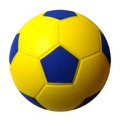 Balon_esponja_poliuretano_futbol_8_amarillo-azul_SOLAR_deportes