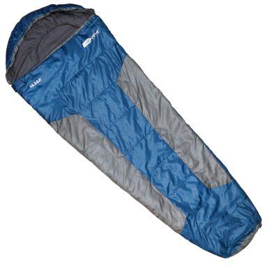 saco dormir nautika mummy celeste con gris 2
