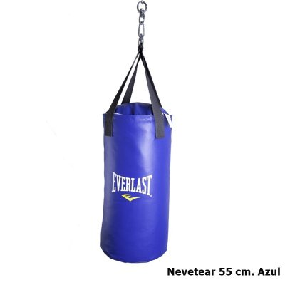 Saco Punching Bag Everlast Nevetear 55 cm. Azul
