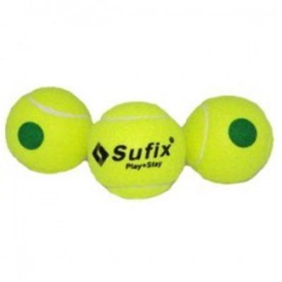 Pelota_Tenis_Sufix_Punto_Verde_SOLAR_deportes